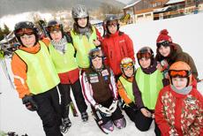 Jazda na nartach dla rodzin